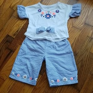 Culottes matching set